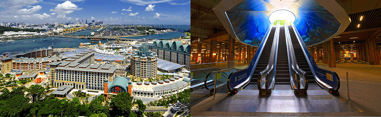 SOUTH ASIA : Resort World Sentosa
